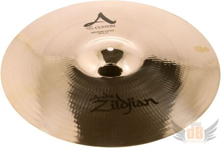 Тарелка типа Crash ZILDJIAN 16` A` CUSTOM MEDIUM CRASH