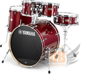 Барабанная установка YAMAHA Stage Custom Birch Cranberry Red